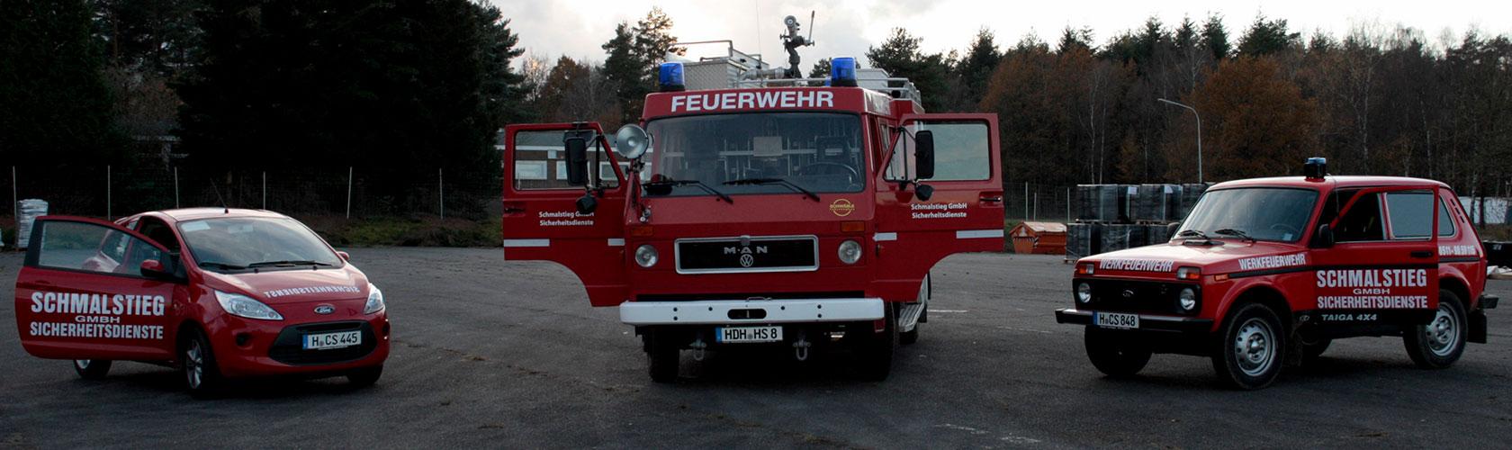 Brandsicherheitswachdienst Fahrzeuge - Brandsicherheitsdienst Hannover