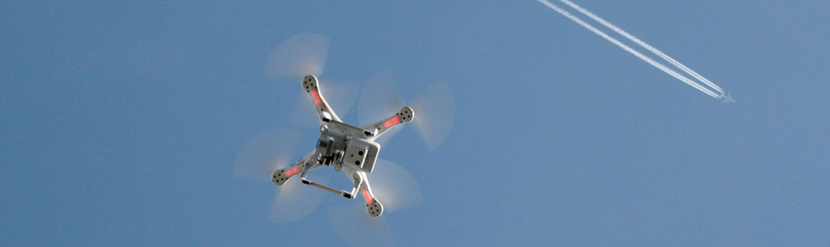 Drohnenüberwachung Contentbild