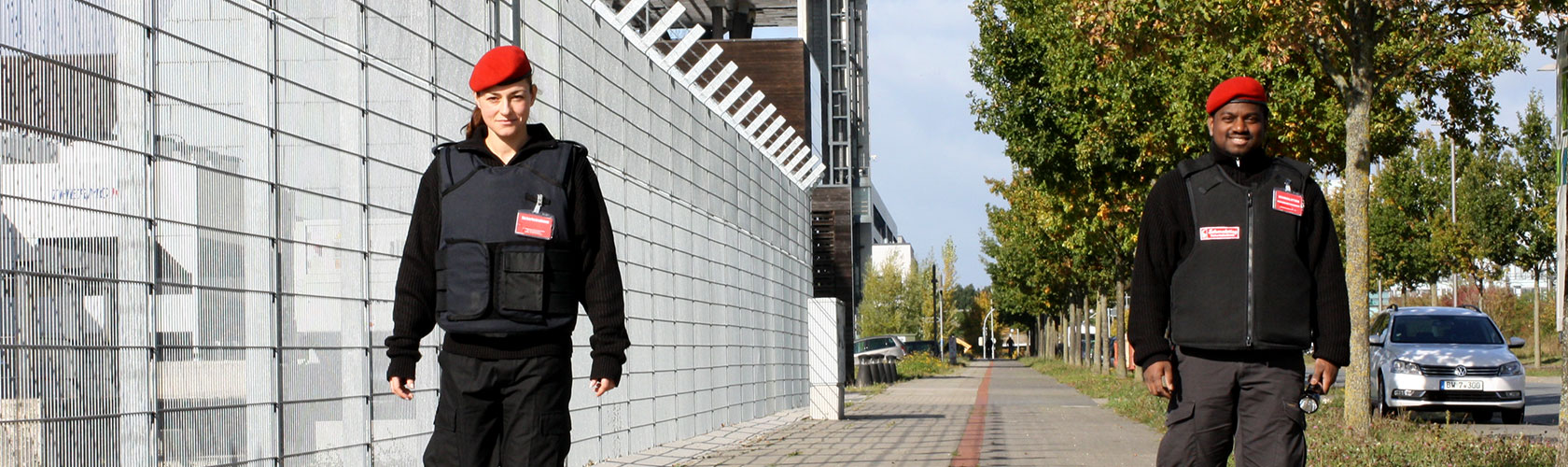 Objektschutz Security Hannover am Objekt - Rundgang um das Objekt