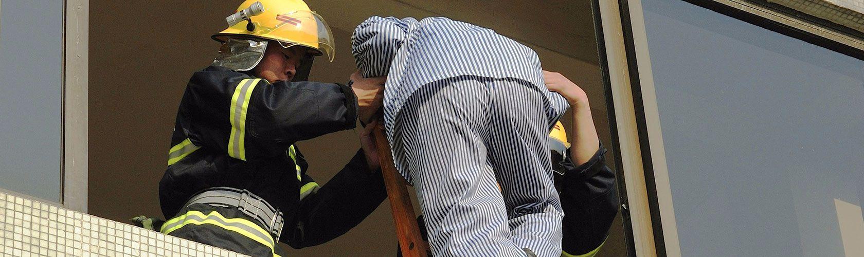 Zu unserer Brandschutzberatung gehört auch die Fluchtübung mit Brandschutzhelfern