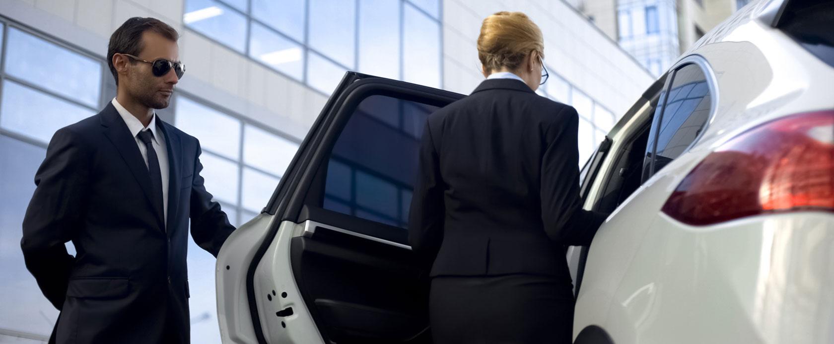 Chauffeurdienst und Empfangsdienst